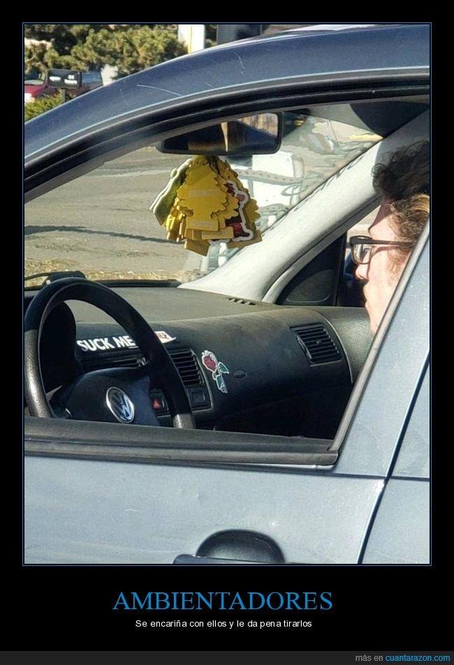 ambientadores,coche,wtf