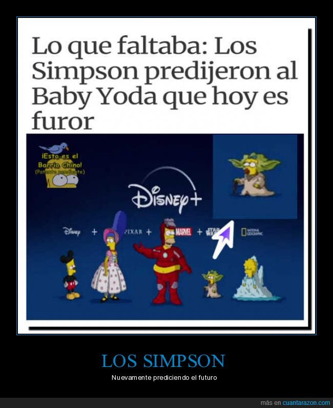baby yoda,disney,maggie,simpsons,star wars