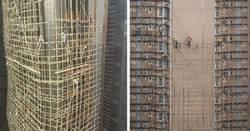 Enlace a Los vertiginosos andamios de bambú. Así es ser albañil en Asia