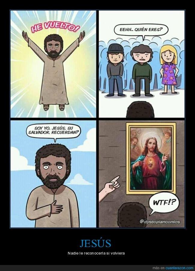 jesús,reconocer,volver