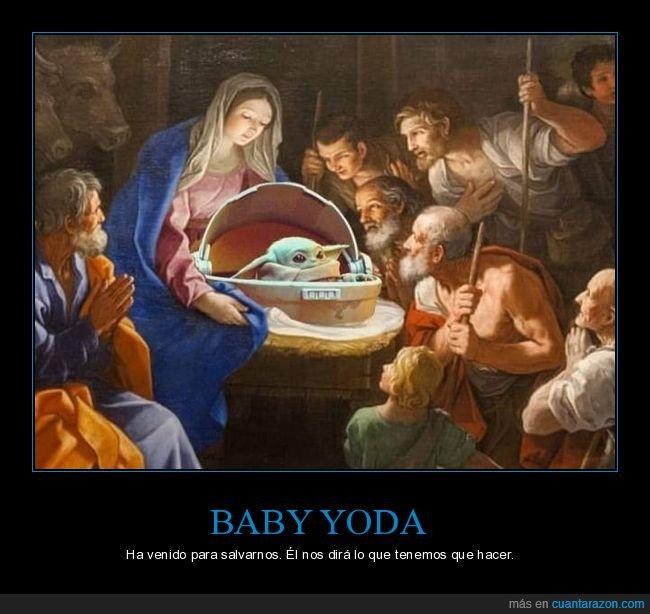 arte,baby yoda,star wars,virgen