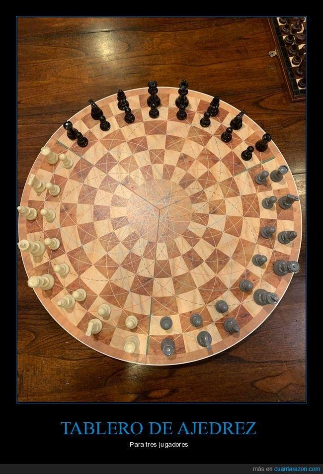 ajedrez,tablero,tres jugadores