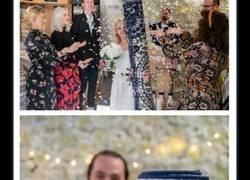 Enlace a Madre soltera se casa con su alfombra en una ceremonia rodeada de sus familiares y amigos