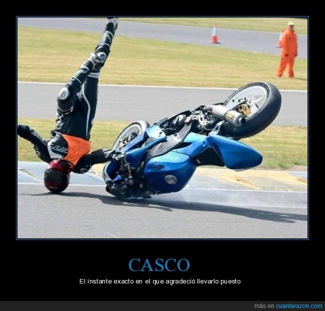 casco,fails,momento exacto,moto