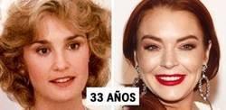 Enlace a Comparaciones entre bellezas del pasado y de la actualidad a la misma edad