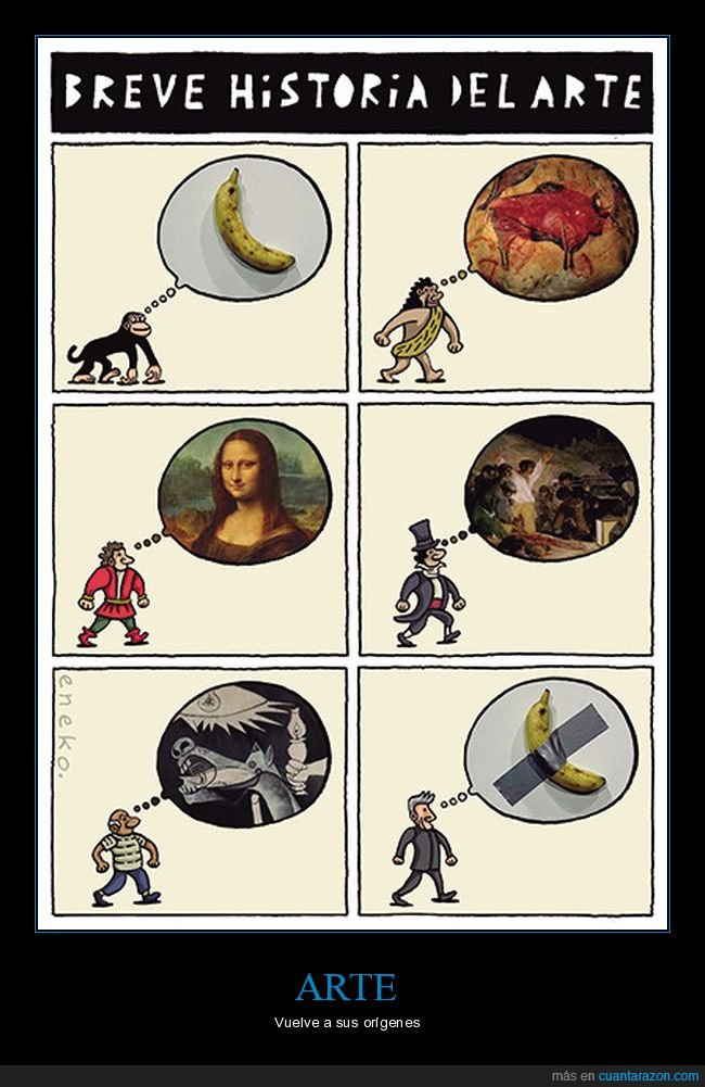arte,historia,plátano