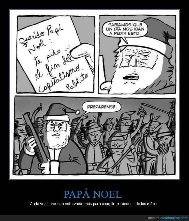 capitalismo,fin,papá noel