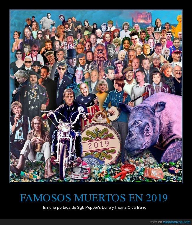 2019,famosos,muertos