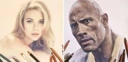 Enlace a Esta artista de Instagram crea retratos hiperrealistas de celebridades y el resultado es genial