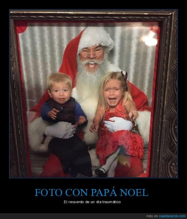 foto,llorando,niños,papá noel