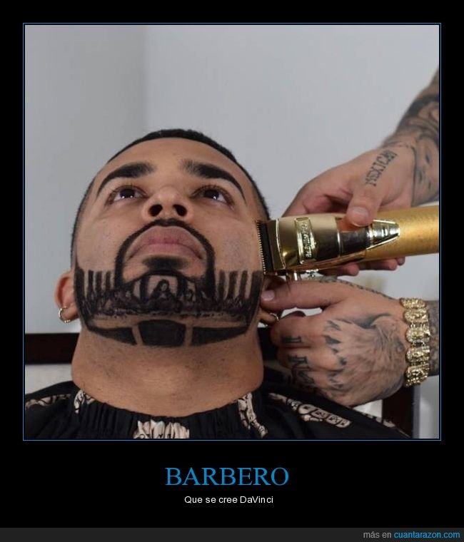 barba,barbero,última cena
