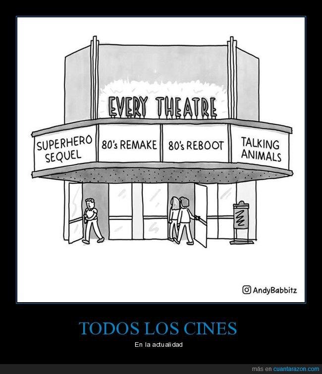 cines,películas,reboots,remakes,superhéroes