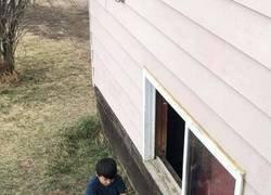 Enlace a Le dijeron que saliera a jugar fuera....