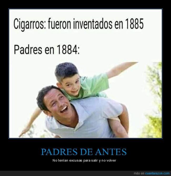 cigarros,hijos,inventados,padres