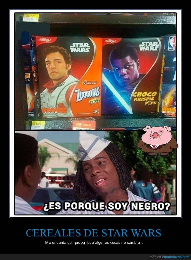 cereales,choco krispis,negro,star wars