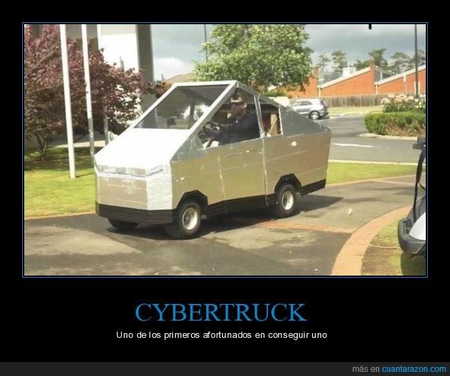 coche,cutre,cybertruck