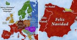 """Enlace a Cómo se dice """"Feliz Navidad"""" en los países de Europa"""