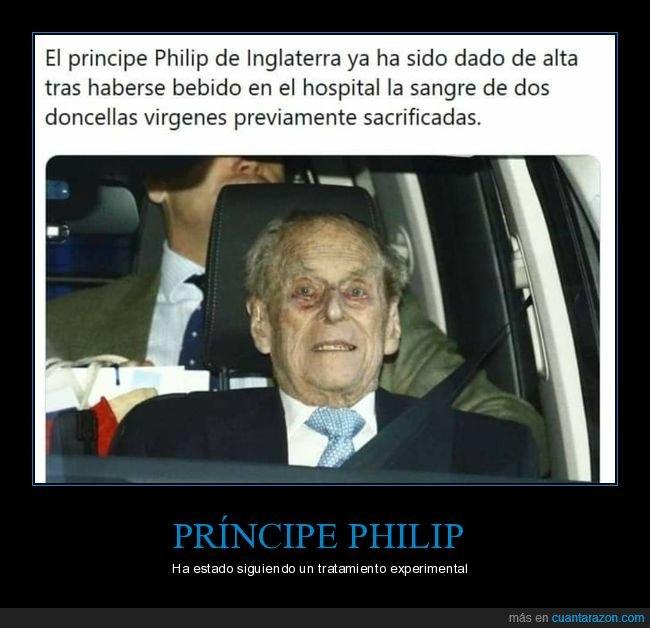príncipe philip,sangre,vírgenes
