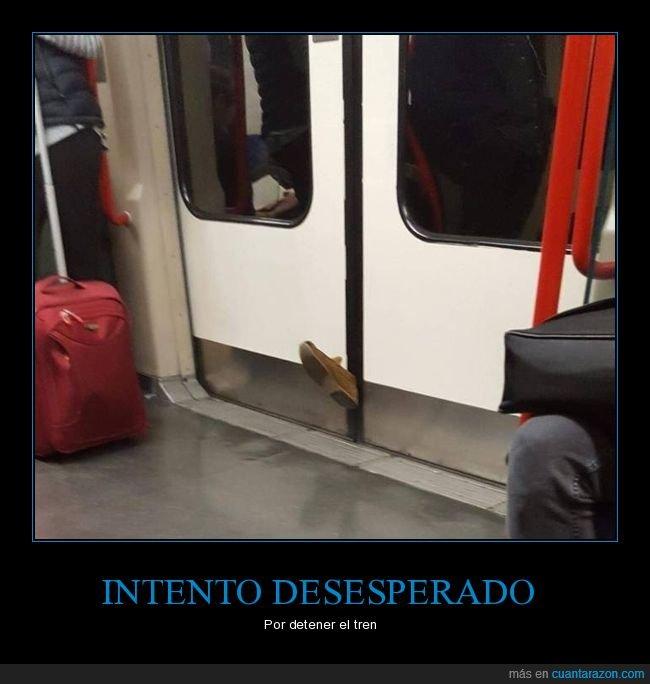 fails,metro,pie,puerta