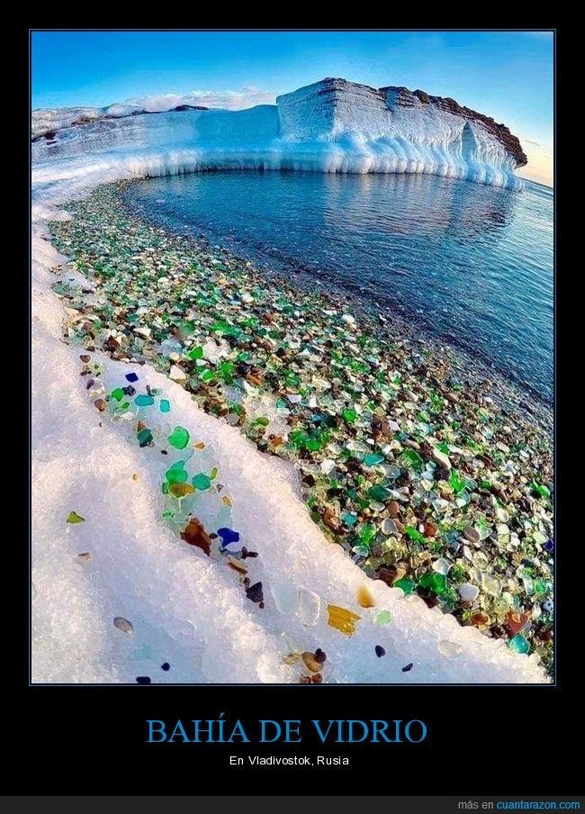 bahía,cristales,rusia