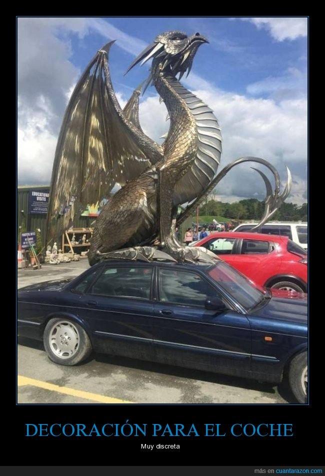 coche,dragón,wtf