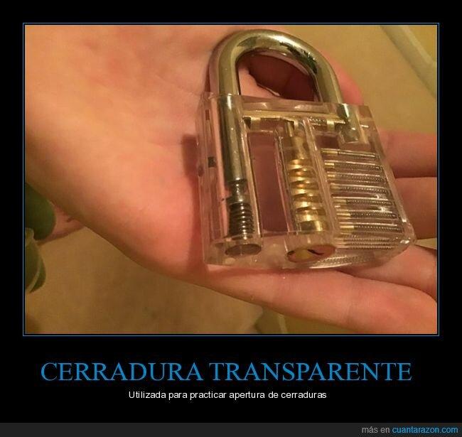 candado,cerradura,practicar,transparente
