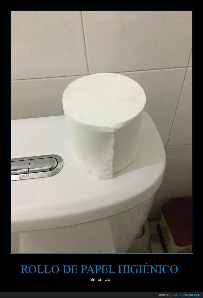 orificio,papel higiénico,rollo,wtf