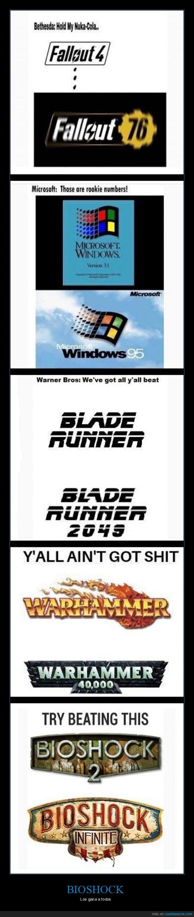 bioshock,blade runner,fallout,numeración,warhammer,windows
