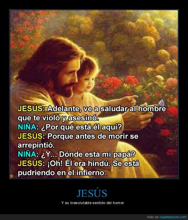 asesino,cristianismo,hindú,jesús,niña,padre