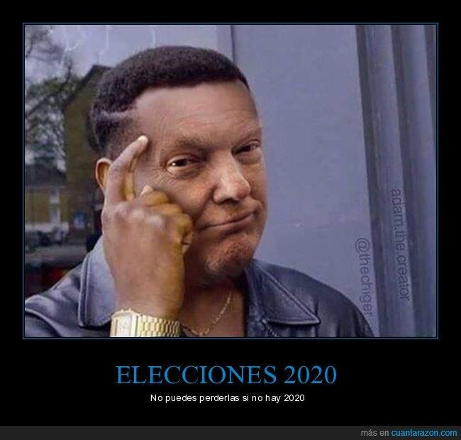 2020,donald trump,elecciones,iii guerra mundial,perder,políticos,roll safe