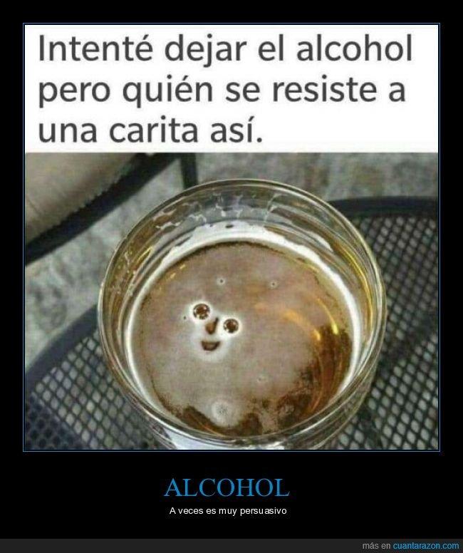 alcohol,cara,cerveza,dejar