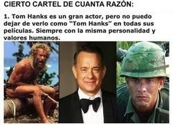 Enlace a Una opinión diferente sobre Tom Hanks
