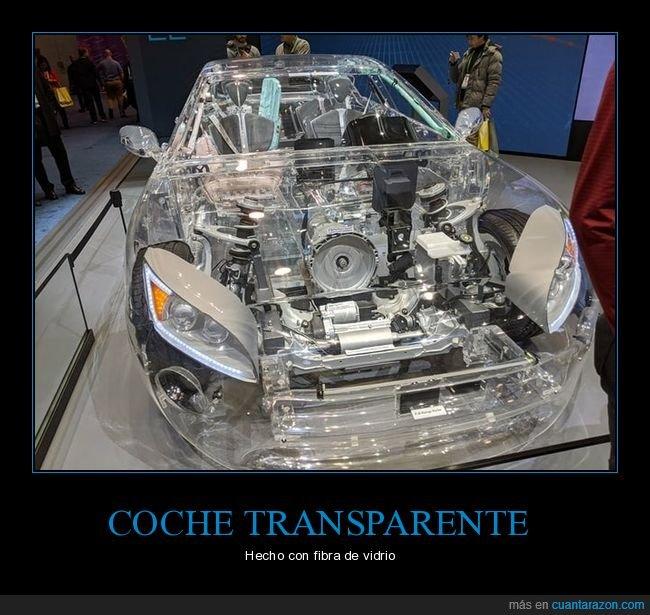 coche,fibra de vidrio,transparente