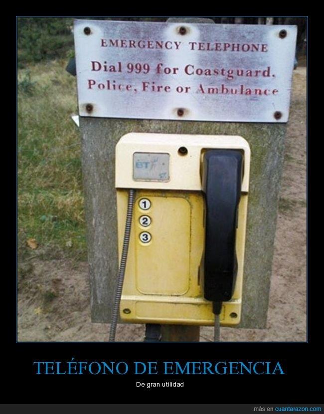 emergencias,fails,números,teléfono