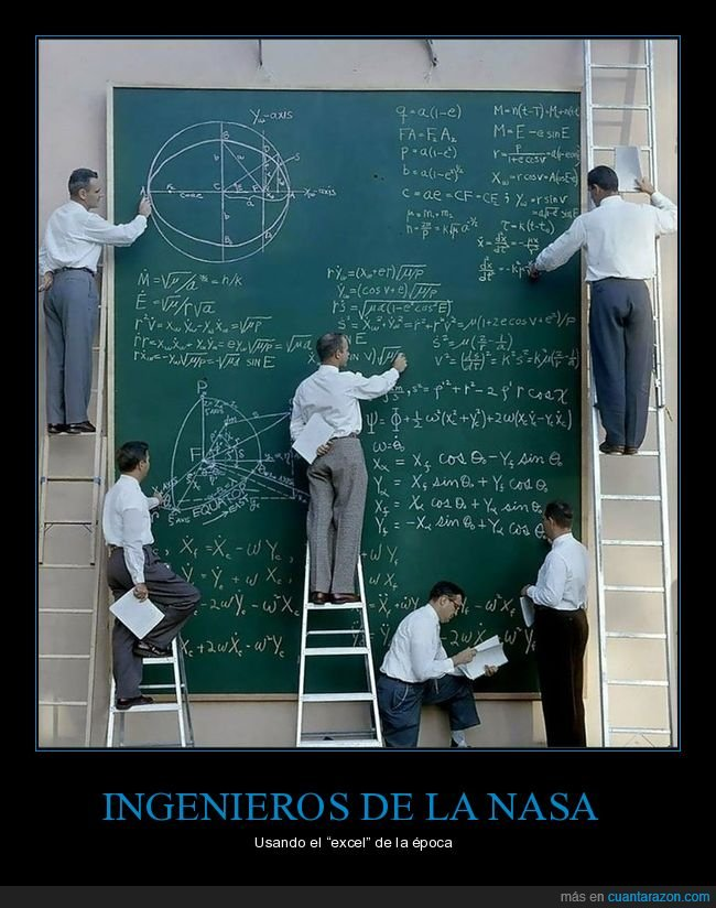 ingenieros,nasa,pizarra