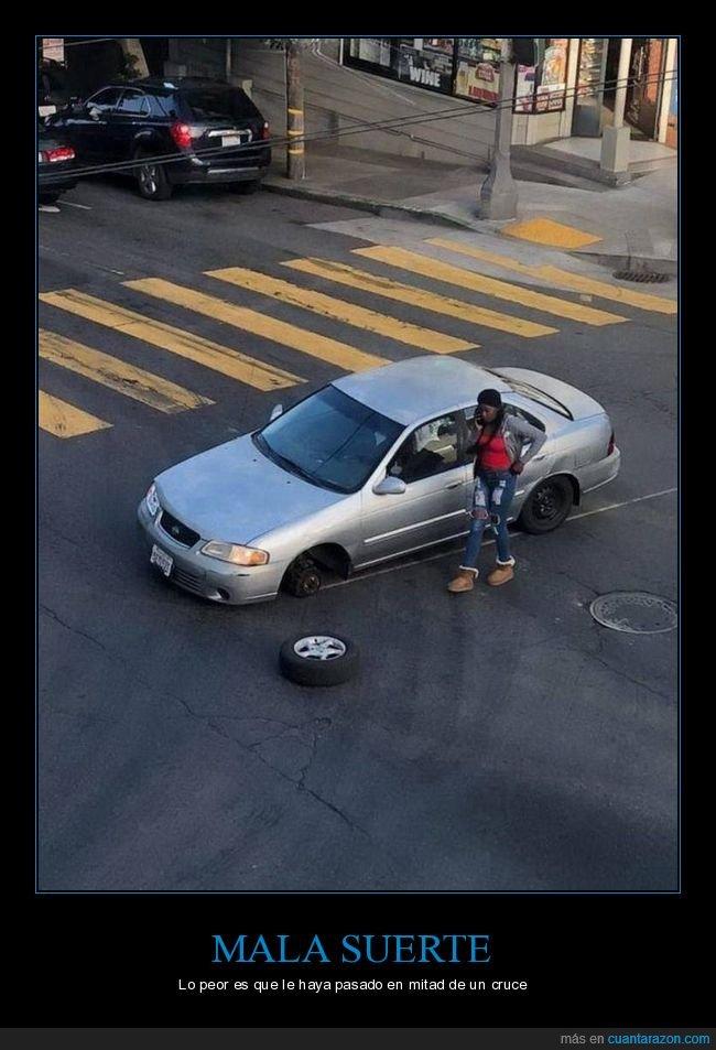 coche,cruce,fails,rueda
