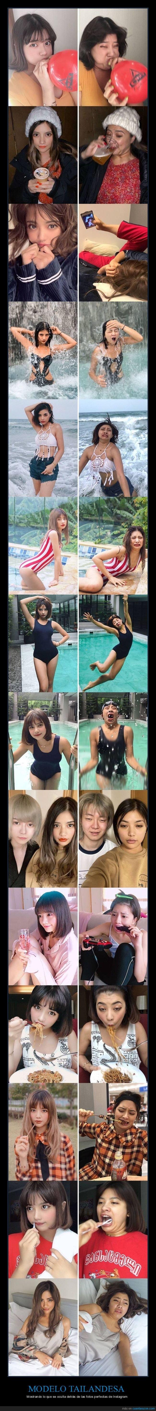fotos perfectas,instagram,modelo,tailandesa