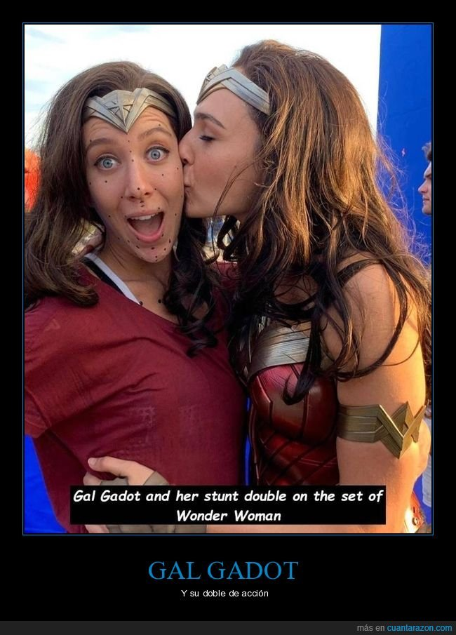 doble,gal gadot,wonder woman