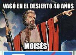 Enlace a Moisés y su pésimo sentido de la orientación