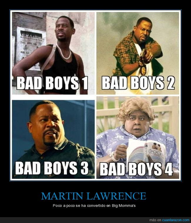 bad boys,bad boys 3,big momma's house,martin lawrence