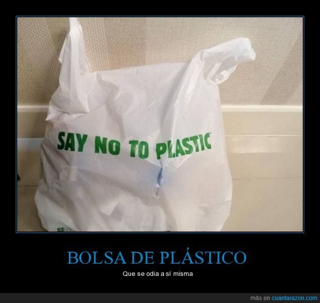 bolsa,plástico,wtf