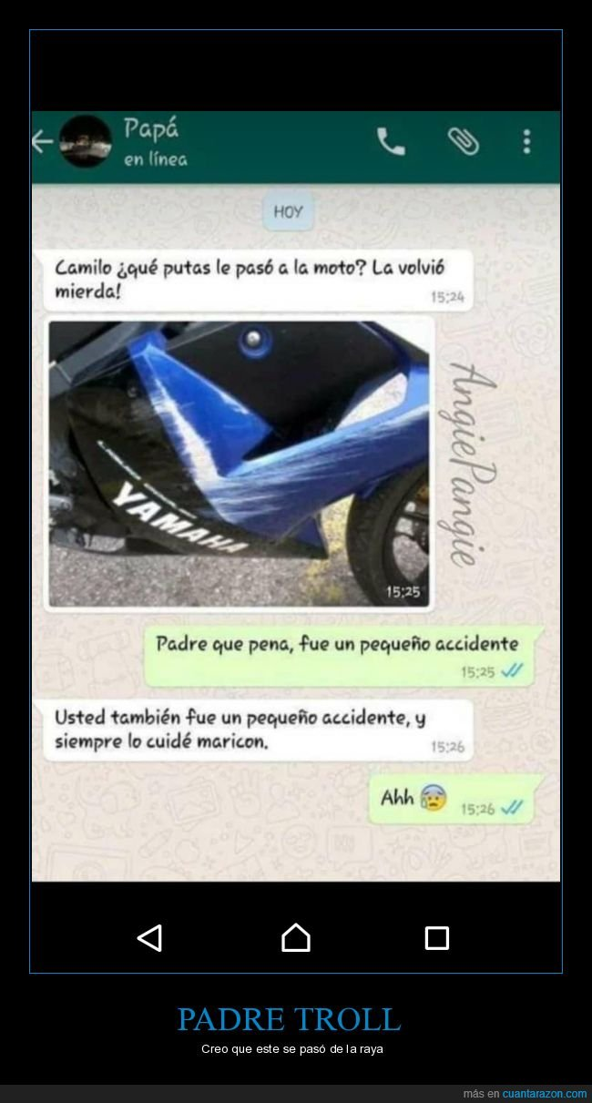 accidente,hijo,moto