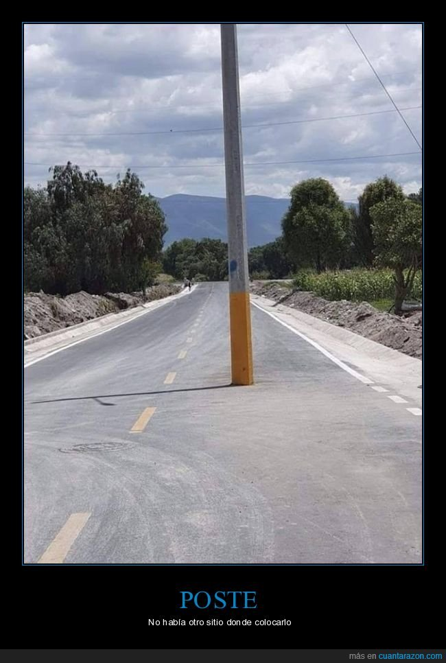 carretera,fails,poste,wtf
