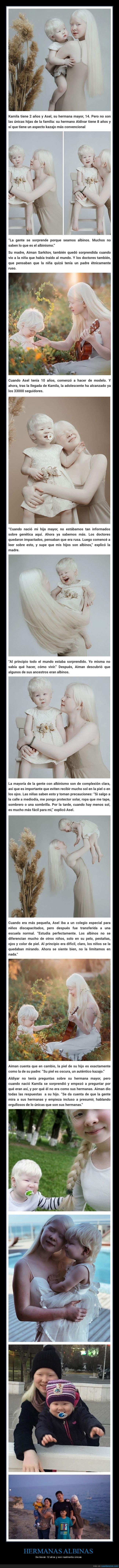 albinas,hermanas