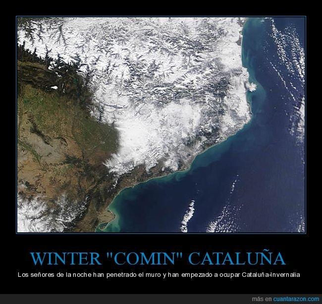 cataluña,invernalia,invierno,juego de tronos,nieve