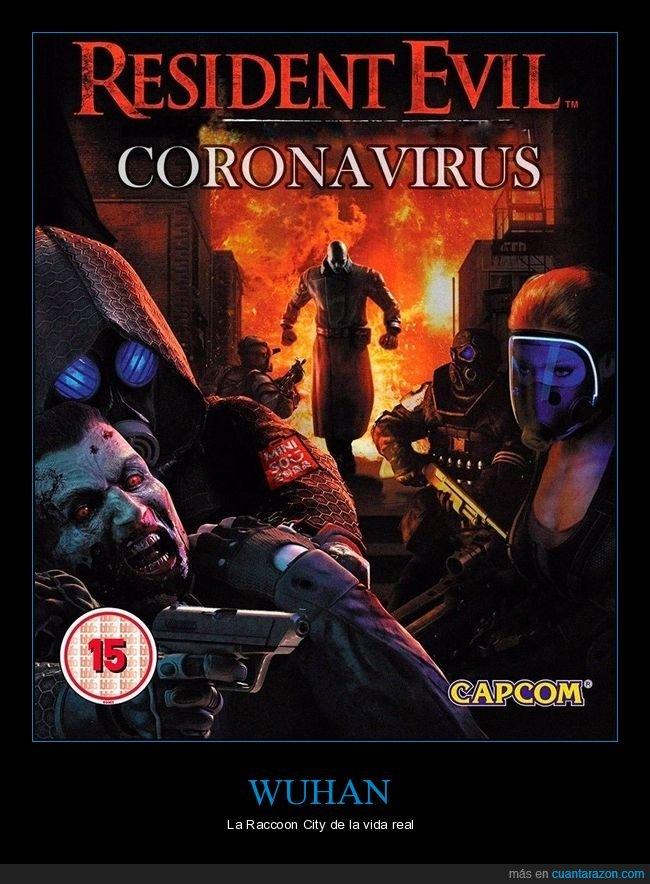 coronavirus,resident evil,virus,wuhan