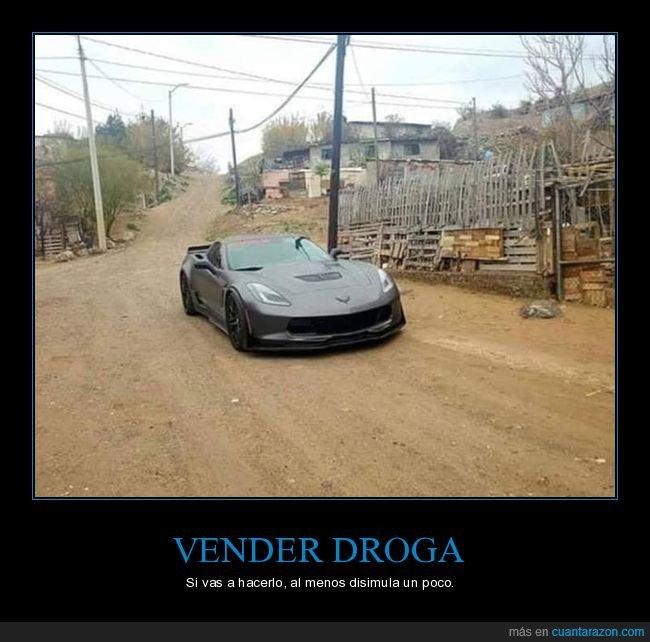 coche,disimular,droga,vender