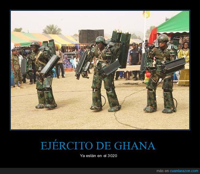 ghana,soldados,trajes,wtf