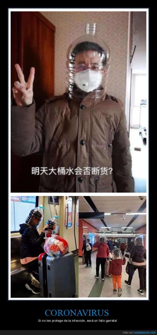 china,chinos,coronavirus,garrafas