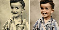 Enlace a Fotos coloreadas que muestran el auténtico horror del Holocausto